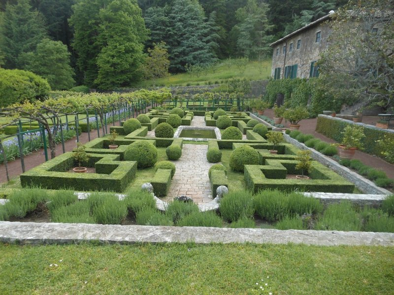 Italian garden design topiary in italian gardens for Italian garden design