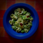 Orecchiette Pasta with Broccoli, Olives and Anchovies