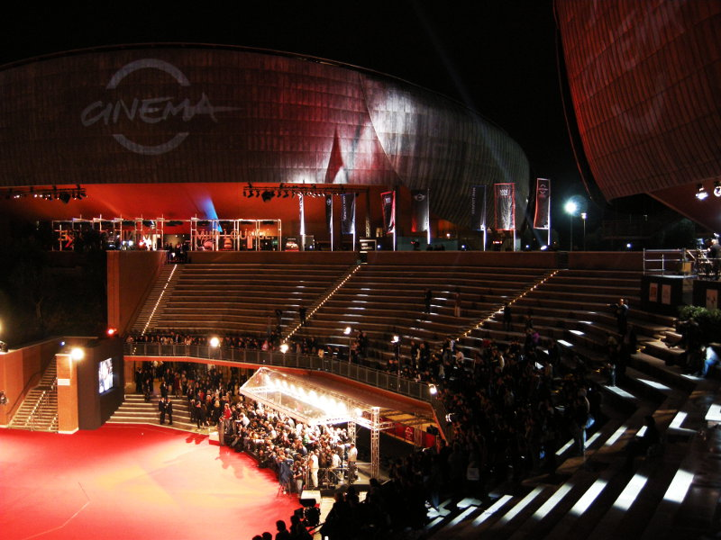 Rome Film Festival at the Auditorium Parco della Musica © Deborah Swain