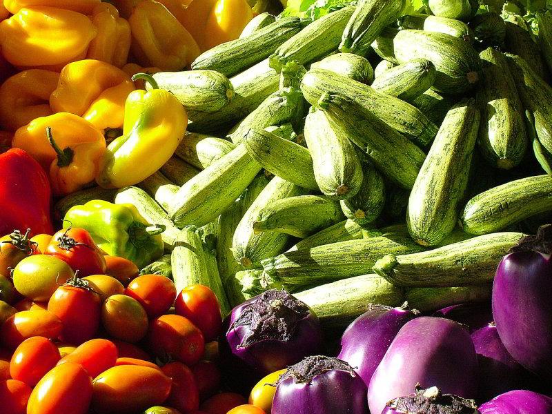 Mediterranean Diet vegetables
