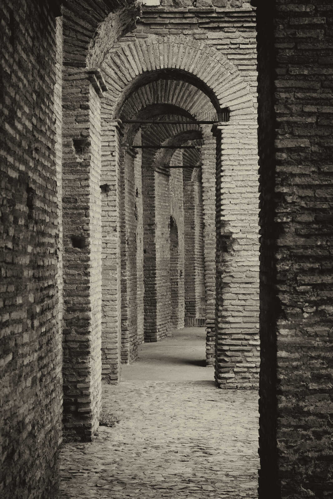 Roman walkway