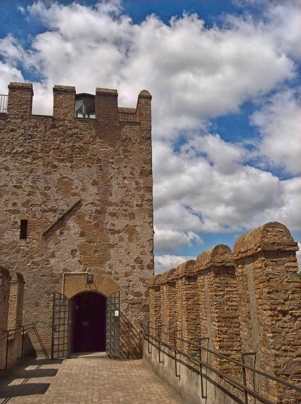 Tower and ramparts